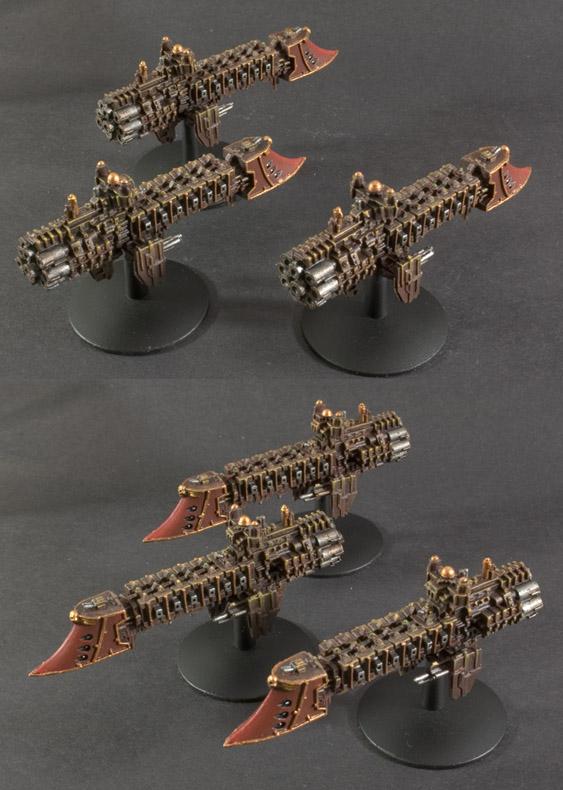 BFG Torpedo Dauntless Light cruisers